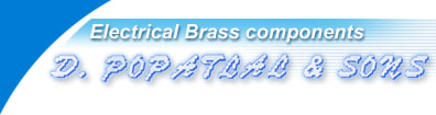 D. Popatlal and Sons, manufacturers of Brass Parts, Brass Components,  Plug and Socket Pins, Electrical Components & Fittings, Electric and Electronics Components, Switchgear, Circuit Breaker, Energy Meter, Shunts Components, Precision Components, Screws, Cable Glands, Electrical Wiring Accessories, Sanitary Fittings, Battery Terminal, Electrical Brass Components, Electrical Brass Parts, HRC Components, Brass Screws, MS Screws, Forging Parts, Electrical Components and Parts, India, Gujarat, Jamnagar